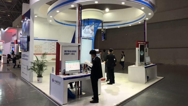 华卓科技亮相2019 CHINC,混合云计算平台正式对外发布