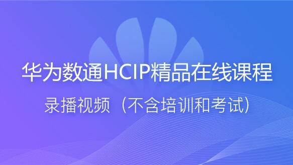 华为数通HCIP精品视频