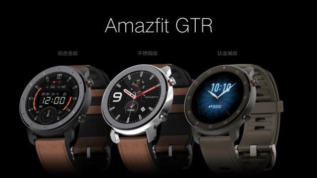 华米发布全新系列手表Amazfit GTR,超长续航领跑智能时代