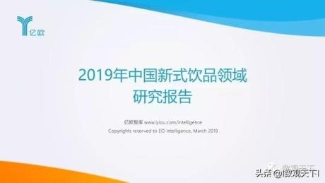 2019年中国新式饮品领域研究报告.pdf