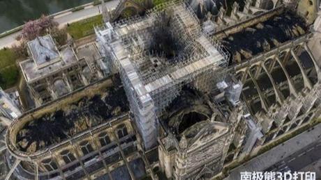 """蔡司3D扫描仪:如何用十亿点云数据""""重建""""巴黎圣母院?"""