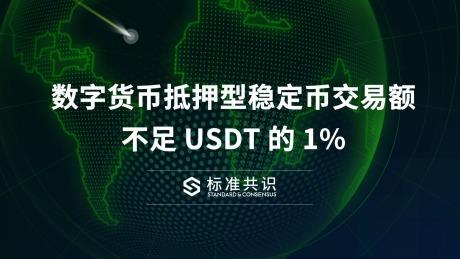 数字货?#19994;?#25276;型稳定币交易额不足 USDT 的 1%|标准共识
