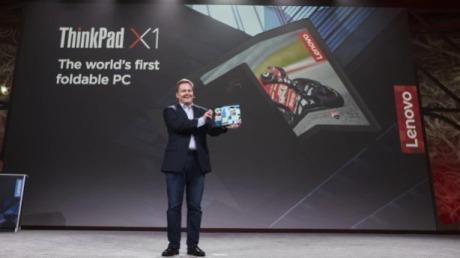联想ThinkPadX1可折叠电脑,推动PC变革的新力量!