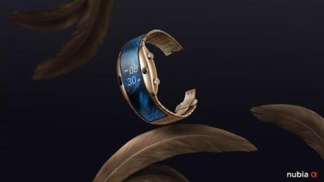 努比亚柔屏腕机,其实是一个屏幕稍大的智能手表