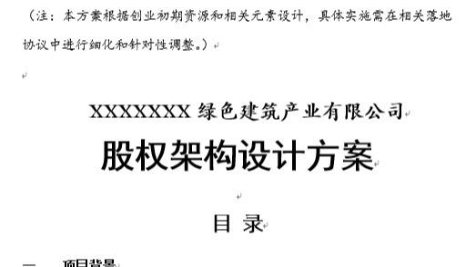 X公司顶层设计方案(蓝本)百度文库5号字体A4纸11页