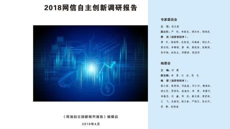 2018网信自主创新调研报告