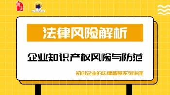 《法律风险解析-企业知识产权风险与防范》