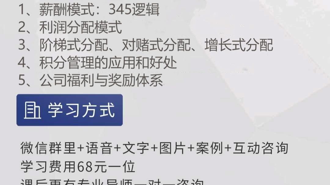 【线上课程全新升级!!薪酬+积分】员工绩效考核体系