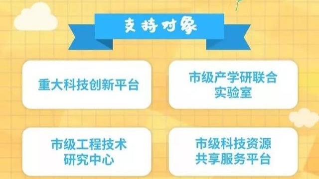 2019年成都项目申报,科技创新平台项目征集啦~