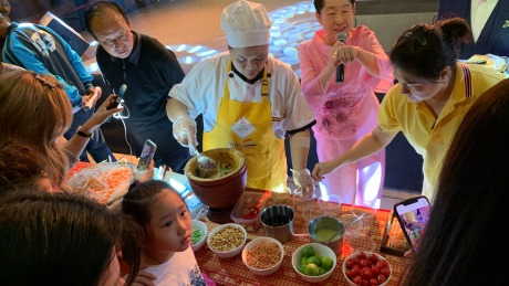 泰国美食畅享活动在意式风情街举行