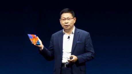 华为首款5G折叠屏手机HUAWEI Mate X强势发布