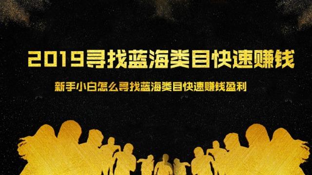 2019寻找蓝海类目快速赚钱(10)