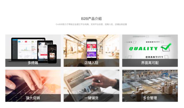 智能电商平台-B2B